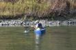 Trout angler, Kootenai River