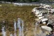 Selway river at Macgruder crossing-wading pool