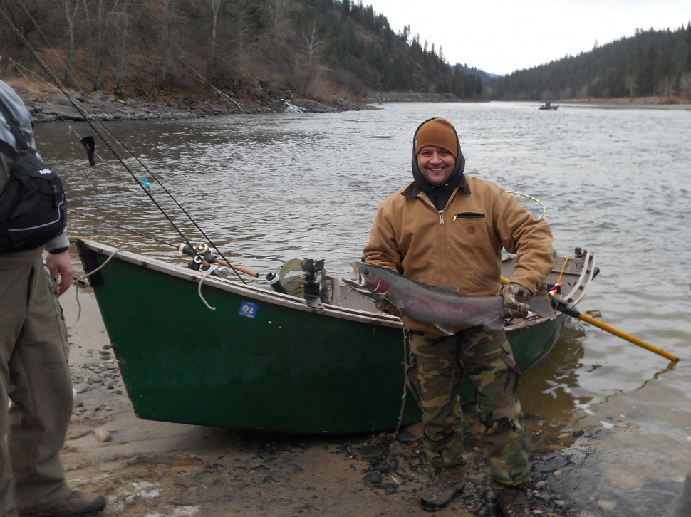 Clearwater region steelhead fishing report 12 5 16 for Idaho fish and game hunter report