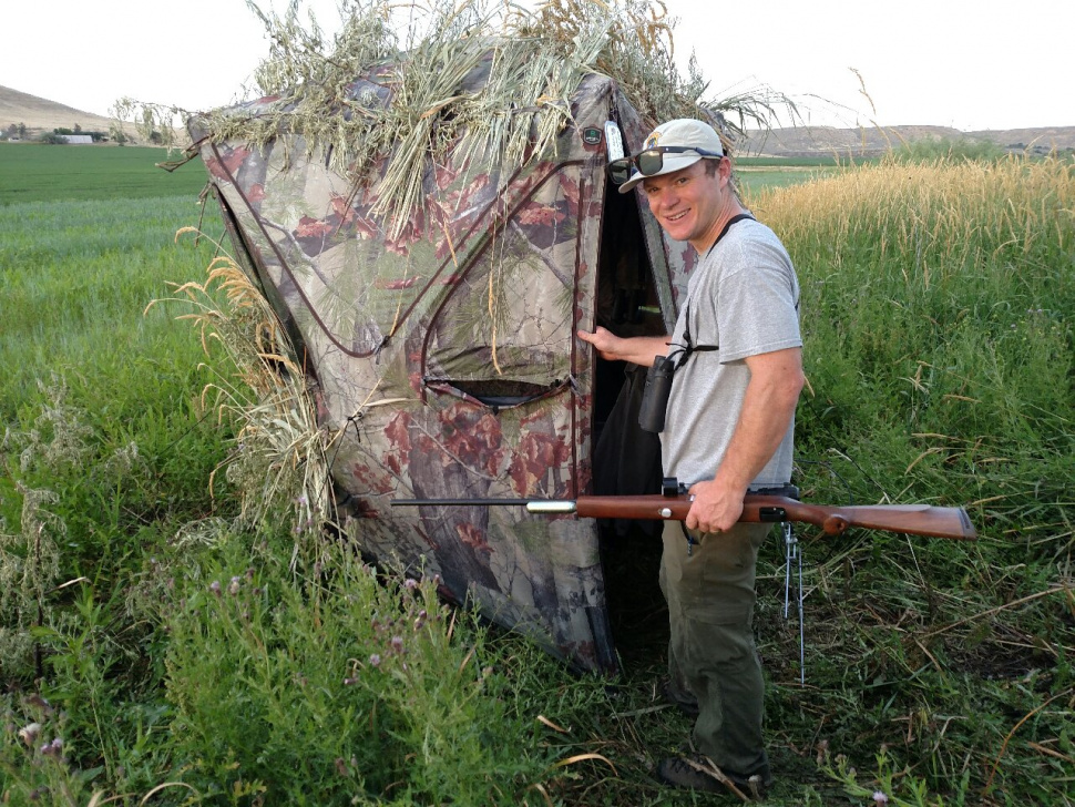 Hunting depredating elk at night with a dart gun idaho for Idaho fish and game hunter report