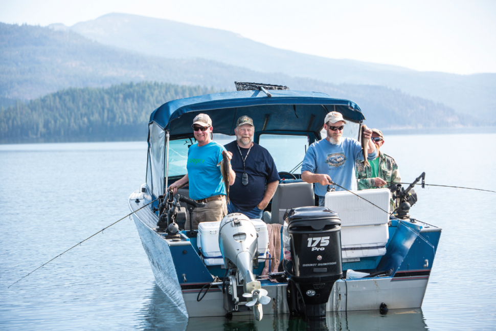 Priest lake lake trout fishing idaho fish and game for Idaho fish and game regulations