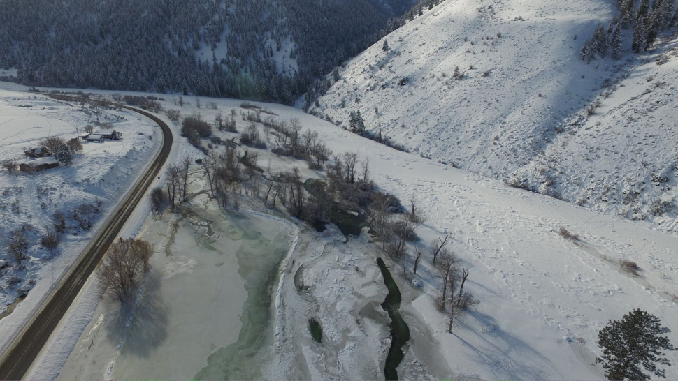 Thinking about steelhead fishing on the upper salmon river for Idaho ice fishing report