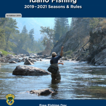2019-2021 fishing seasons and rules booklet cover