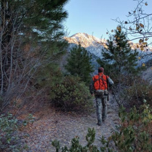 Hunting the foot of Goat Mountain