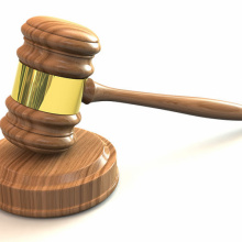 IDFG Commission Gavel Symbolic Image