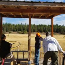 Clay shooting at Farragut