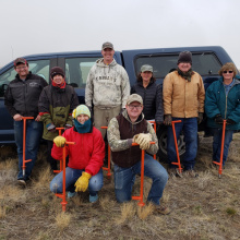Tex Creek Planting Volunteers 2019